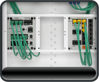 structured wiring burroughs systems inc rh burroughssystems com Structured Wiring Panel Home Network Wiring Panel